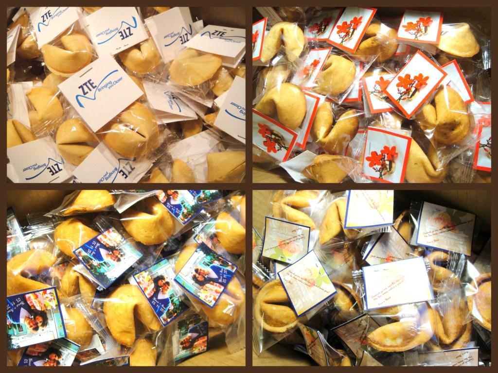 Печенье с открыткой 1 шт (брендирование, фото)