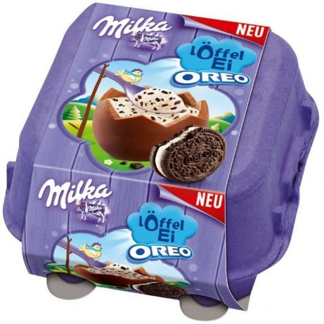 Milka Loffel Ei  Oreo 4 шт