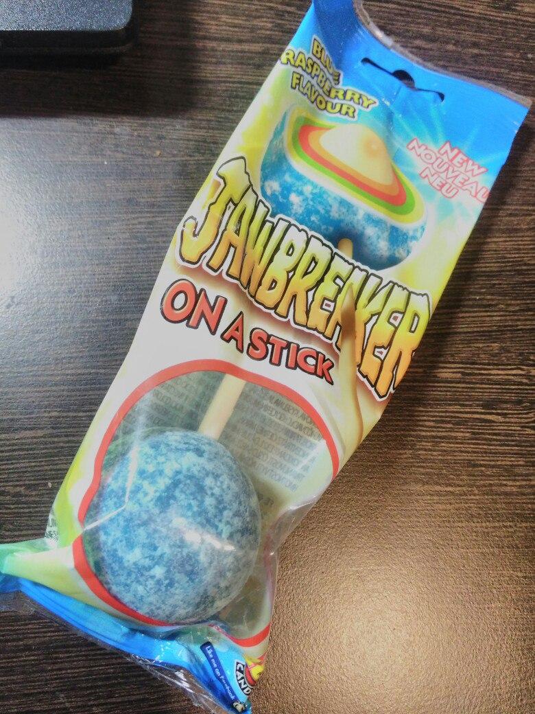 Jawbreaker on a stick Многослойная жвачка