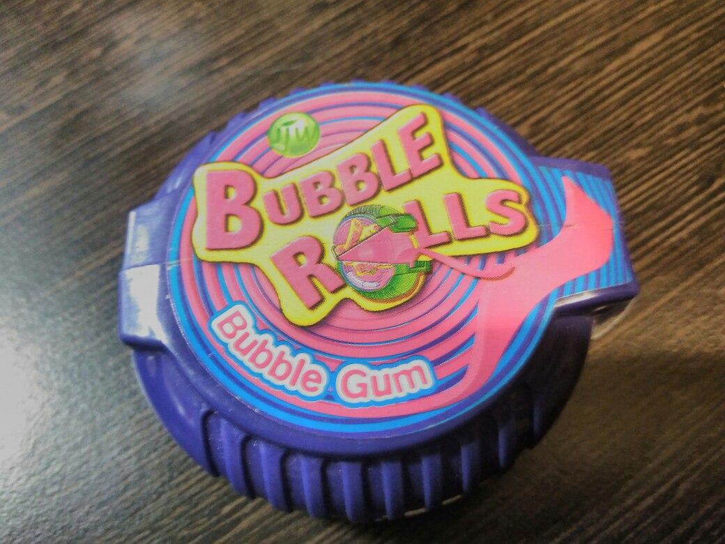 Bubble Rolls bubble gum 18 g черника