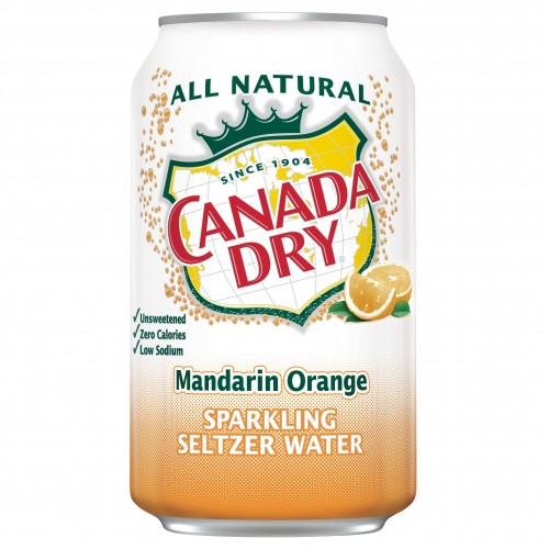 Canada Dry Mandarin Orange 355ml