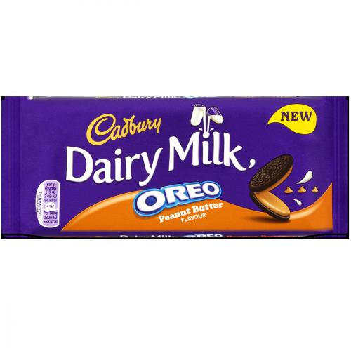 Dairy Milk Oreo Peanut Butter