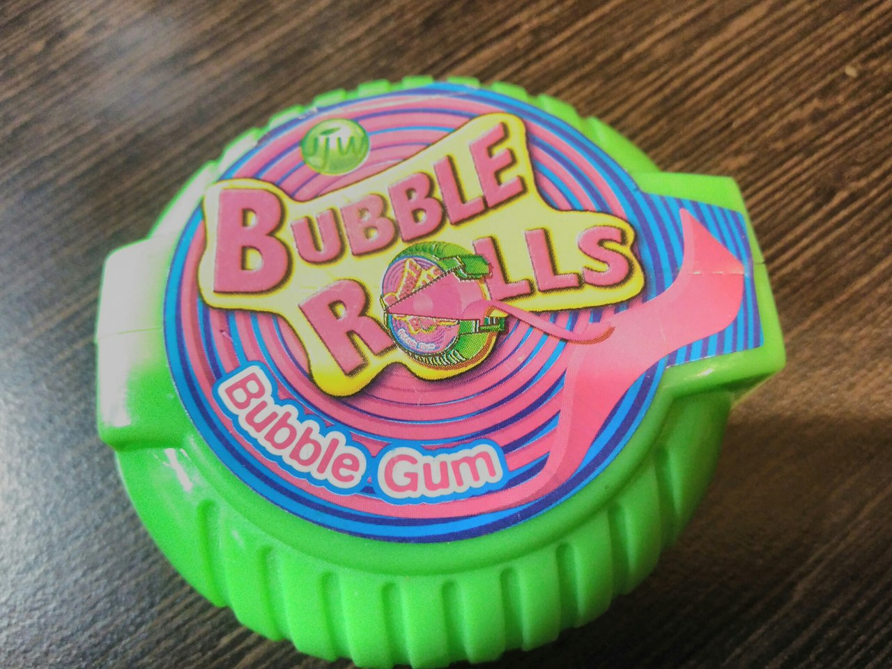 Bubble Rolls bubble gum 18 g apple