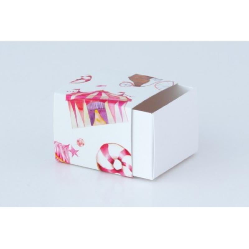 Коробочка для печенья с предсказанием (базовый вариант)