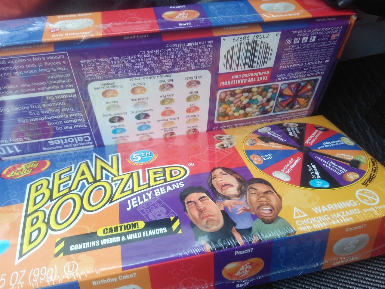 Bean Boozled 5 версия 20 вкусов игра-рулетка НОВИНКА
