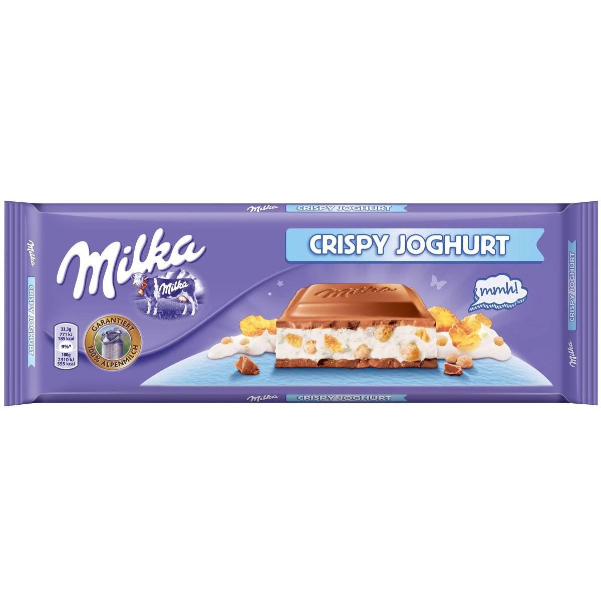 Milka Crispy Joghurt (300 гр)