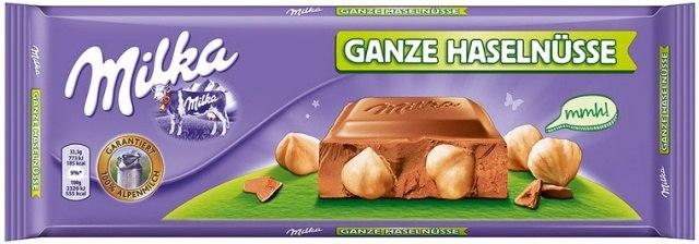 Milka Ganze Haselnusse (300 гр)