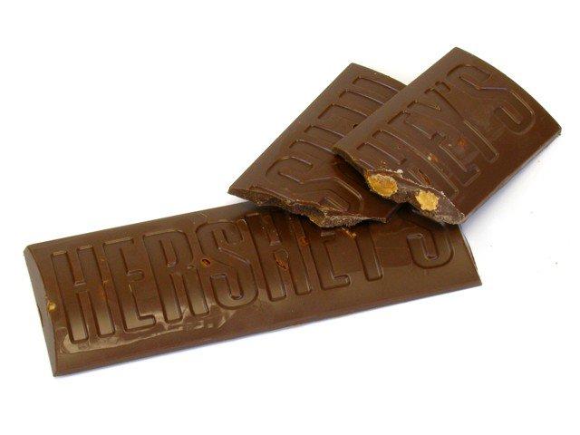 Hershey's Milk Chocolate Bars with Almonds