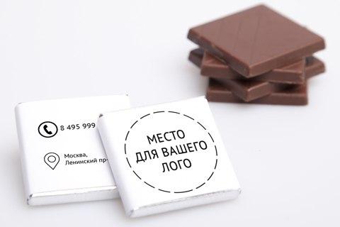 Choco! Шоколад с логотипом