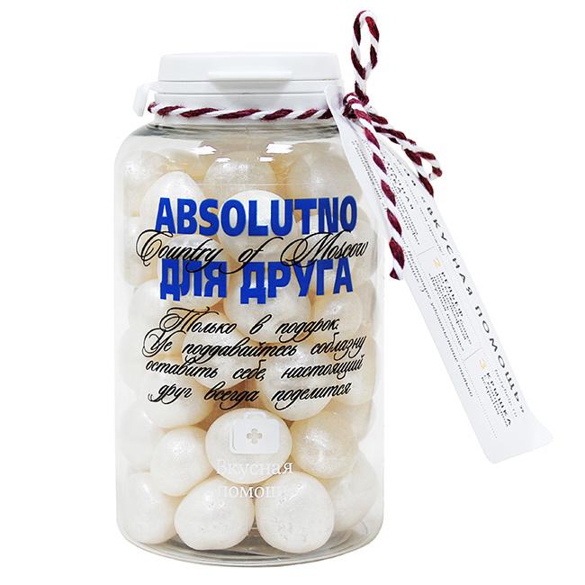 """Банка """"Absolutno для друга"""" 250г"""