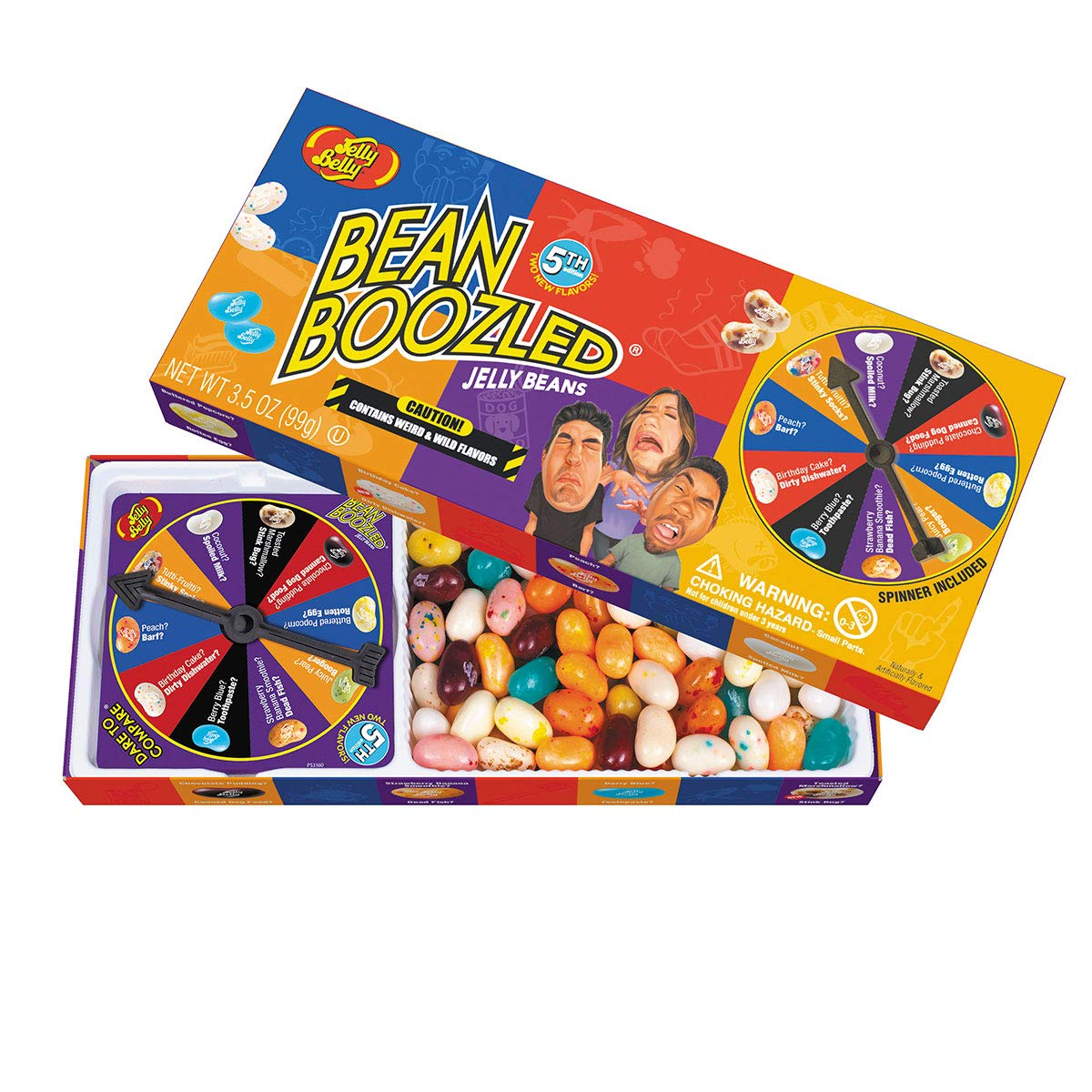 Jelly Belly Bean Boozled Game 5 версия