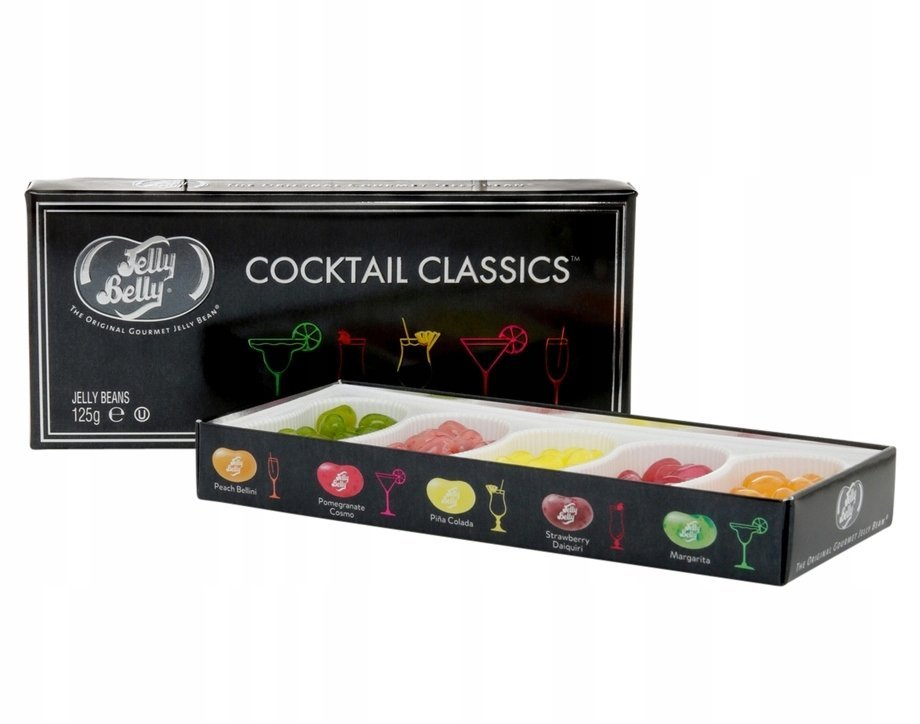 Jelly Belly Cocktail Classics Jelly Beans коктейли в коробке 125 гр