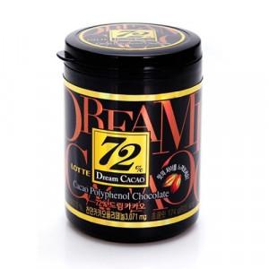 Lotte Dream Cacao в кубиках - Горький шоколад Dream Cacao 72% 90 гр