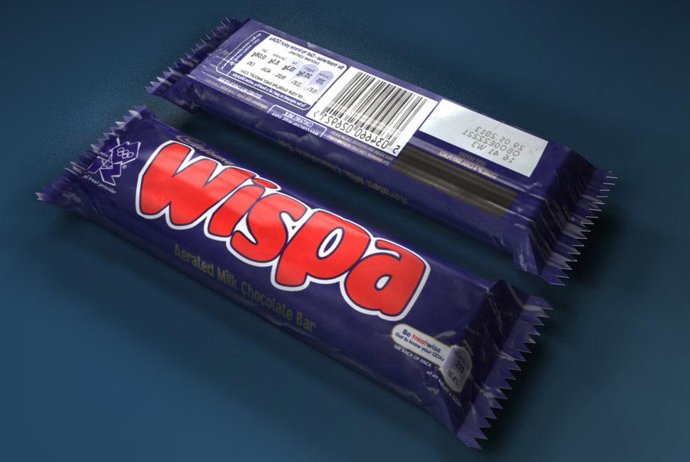 Cadbury Wispa Ice Cream Bars 36 гр
