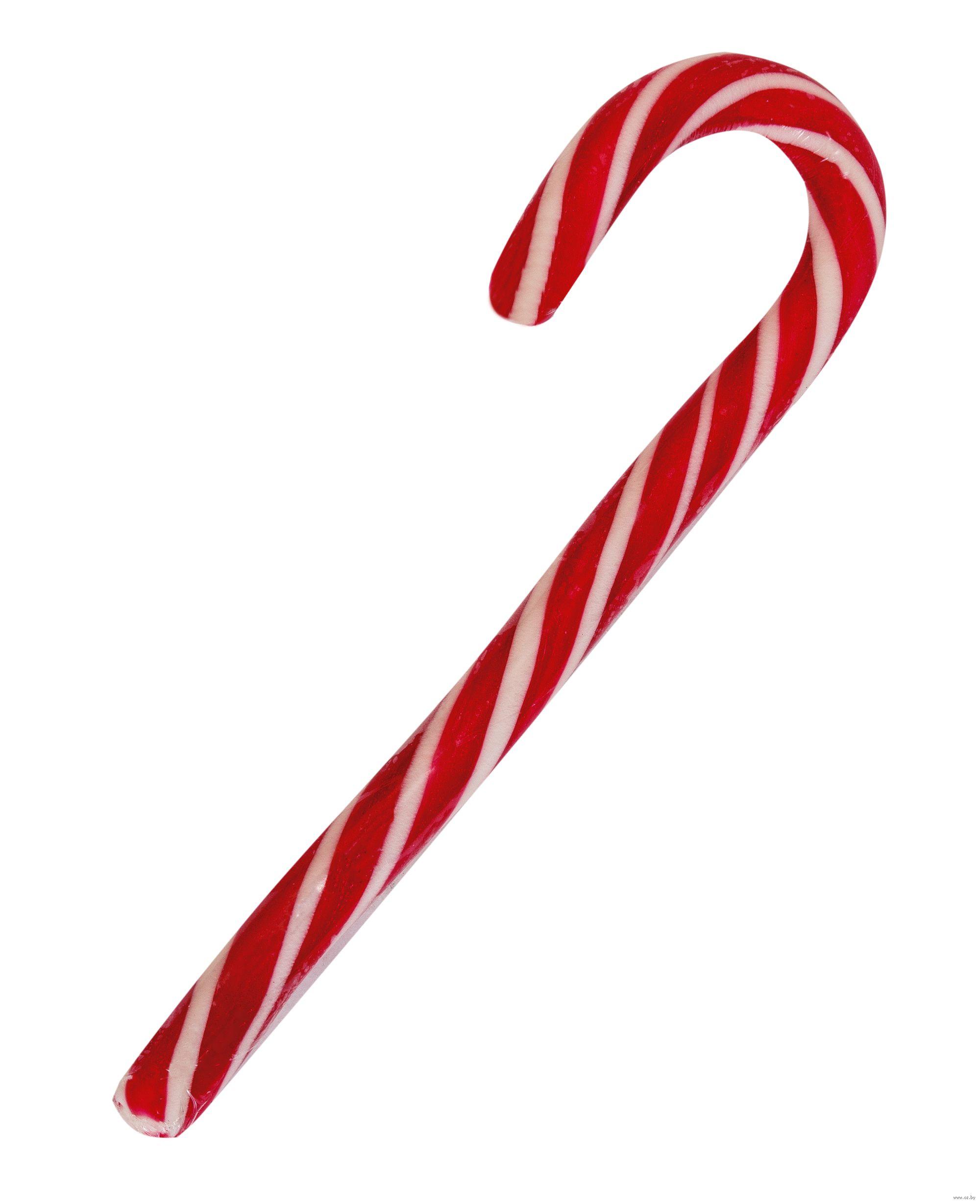 Candy Cane карамельная трость посох рождественский (классический, красно-белый)