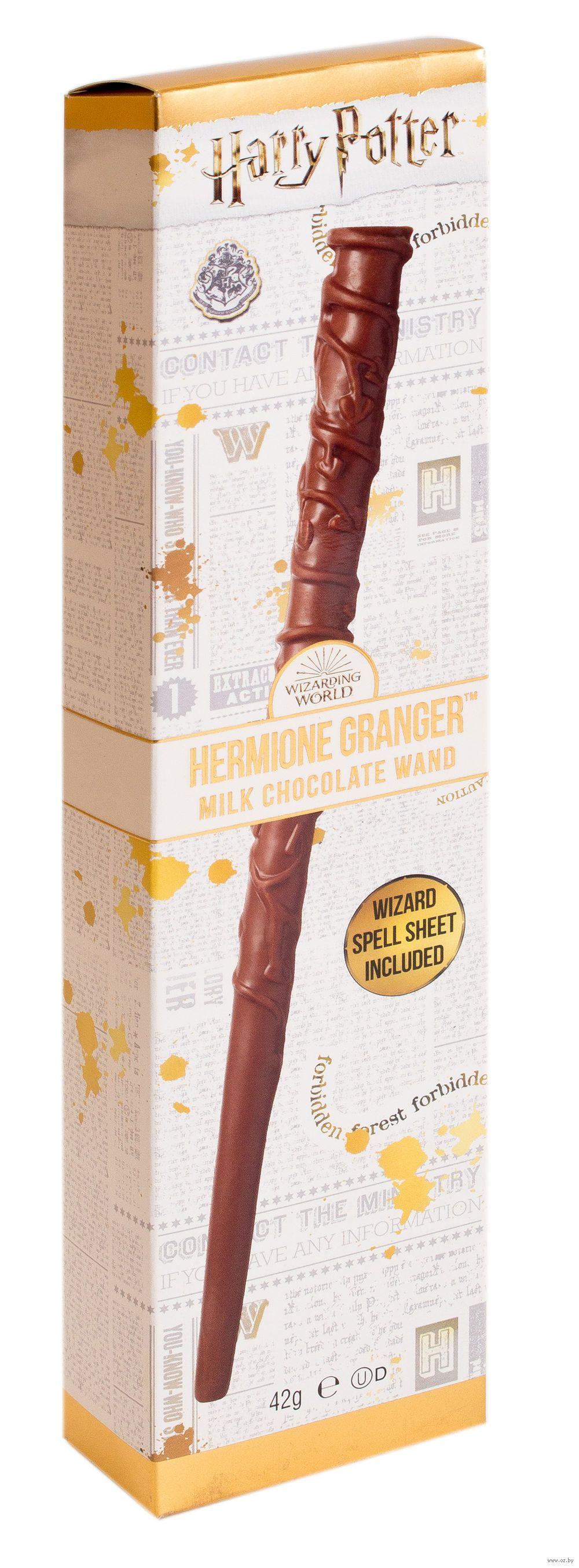 "Jelly Belly Magic Wand Шоколад молочный ""Волшебная палочка. Гермиона"" 42 г"
