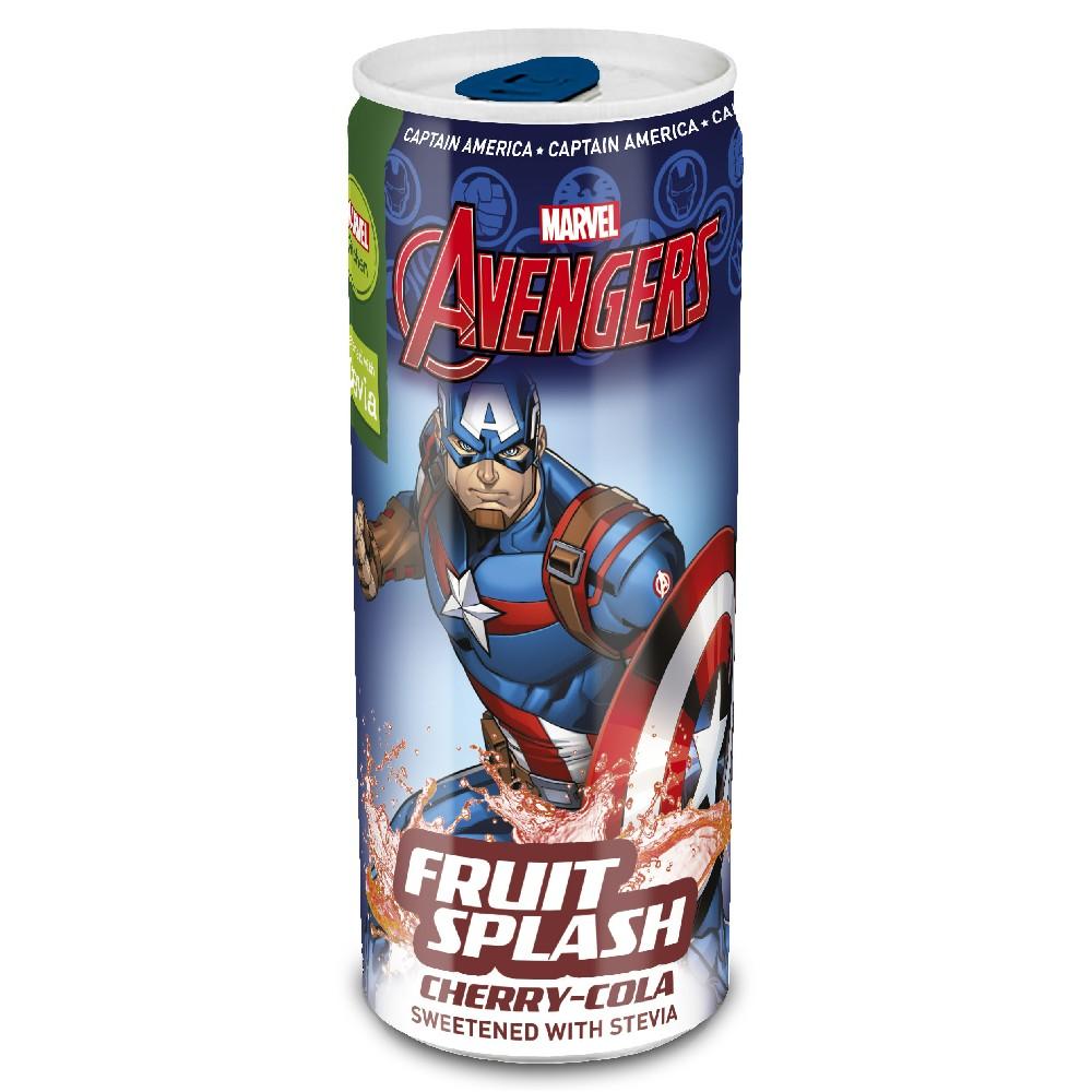 Avengers Fruit Splash soft drink напиток Капитан Америка Camtain America