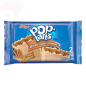Kellogg's Печенье с начинкой Pop Tarts Brown Sugar Cinnamon корица и коричневый сахар 104 g