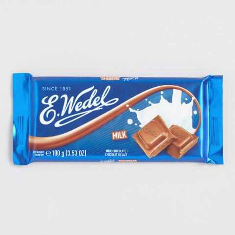 E. Wedel Milk Chocolate Bar 100 g молочный шоколад