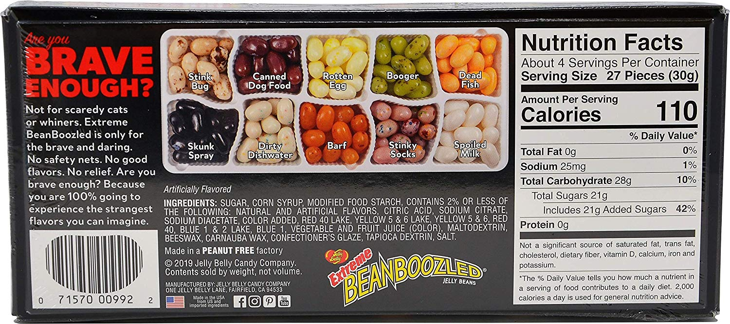 Bean Boozled Extreme Jelly Belly Gift Set 120 гр