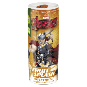 Avengers Fruit Splash soft drink напиток ТОР THOR