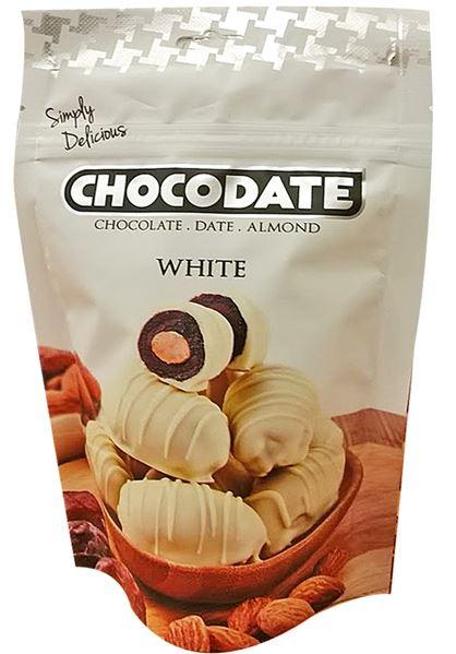 Chocodate Exclusive Pouch Milk White United Arab Emirates (ОАЭ) 100gr