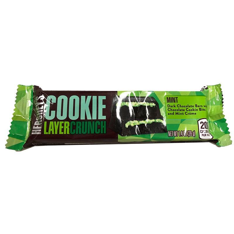 Hershey's Cookie Layer Crunch - Mint шоколад из США с мятой 39 гр