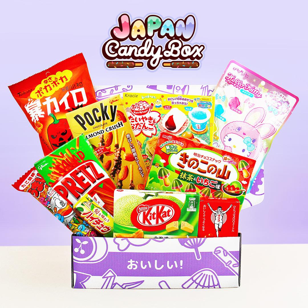 Mystery Asia Sweet Box (японские, китайские, корейские сладости) бокс