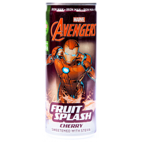 Avengers Fruit Splash soft drink напиток Железный человек Iron Man