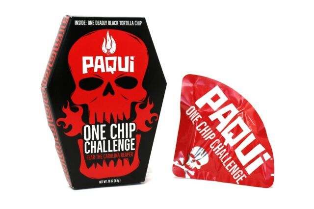 Paqui Carolina Reaper Madness One Chip Challenge самый острый чипс в Мире