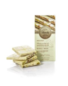 Salted White Chocolate boxed bar 100g